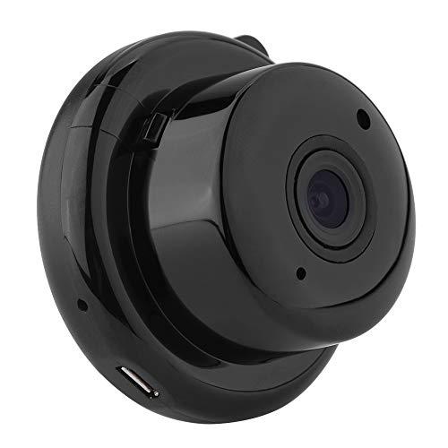 Mini camera groothoek 90 ° Full HD 720P beveiligingscamera met IR-nachtzicht en bewegingsdetectie voor thuis en op kantoor EU.