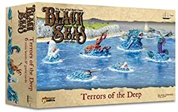 Black Seas The Age of Sail Terrors of The Deep for Black Seas Table Top Ship Combat Battle War Game 792411005