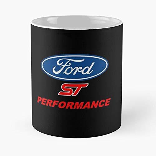 5TheWay St Ford Mug Performance Fiesta Standardkaffee 11 Unzen Geschenk Tassen für alle
