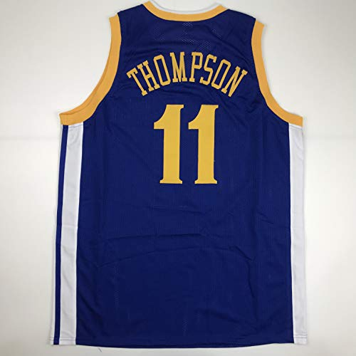 Unsigned Klay Thompson Golden State Blue Custom Stitched Basketball Jersey Size Men's XL New No Brands/Logos