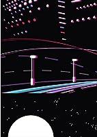 igsticker ポスター ウォールステッカー シール式ステッカー 飾り 1030×1456㎜ B0 写真 フォト 壁 インテリア おしゃれ 剥がせる wall sticker poster 010410 風景 夜景 月