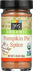 365 by Whole Foods Market, Limited Edition Organic Spice, Pumpkin Pie, 1.76 Ounce