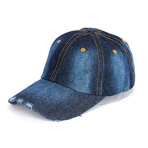 Gorras de béisbol Gorra De Béisbol para Hombres Mujeres Pareja Hip Hop Hueso Algodón Sombrero Primavera Y Otoño Viejo Lavado Camión Sombrero 55-59Cm 3Color