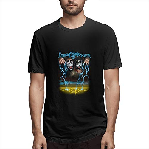 EsterKirk ICP T-Shirt Hombres S Moda Casual Deportes Algodón Manga Corta Camiseta Top