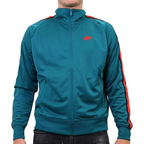 Nike Herren Sportswear N98 Jacke Grün L