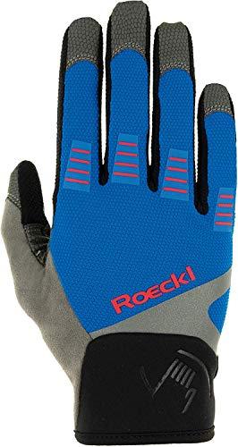 Roeckl Herren Mangfall Handschuhe, blau, 8.5