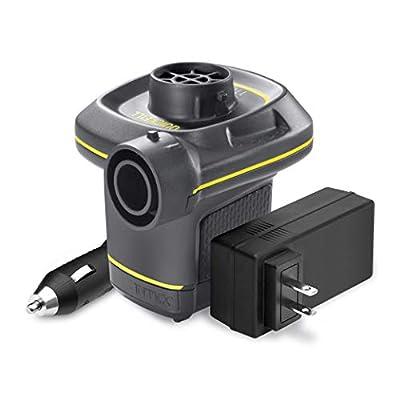 Intex Quick-Fill AC/DC Electric Air Pump, 110-120V AC/12V DC, Max. Air Flow 480 L/min