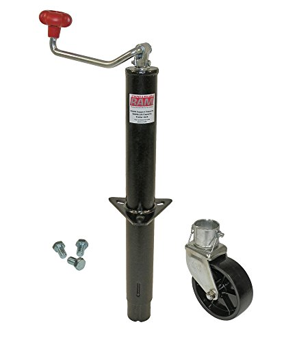 RAM A-Frame Trailer Jack with Wheel and Mounting Hardware