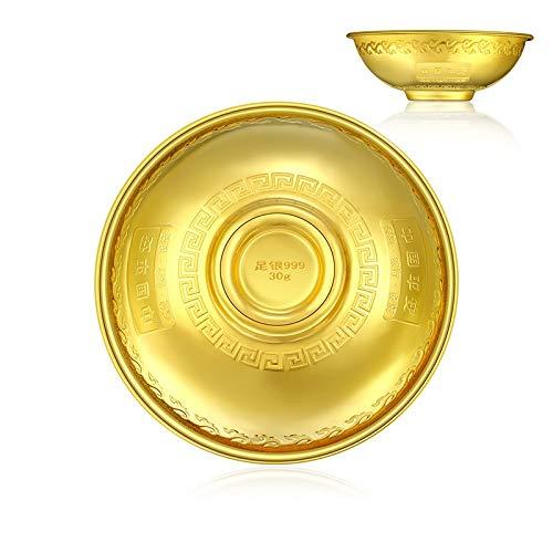 Asbak kostbare metalen goud, zilver en koper vrede kom hydraulische druk vergulden proces China Ping een bank B30g