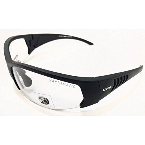 Uvex Discovery Sportbril voor heren, mat zwart