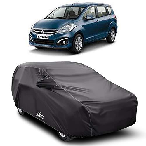 XG Brand Car Body Cover Special Design for Maruti Suzuki Ertiga (Gray with Mirror Pocket)