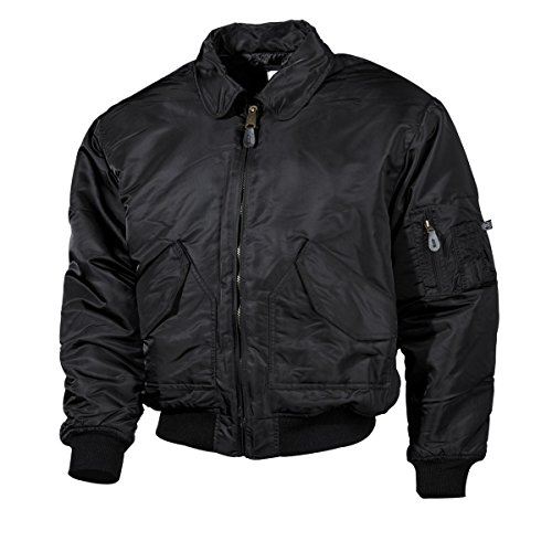 MFH US Airforce CWU Pilotenjacke Basic (Schwarz/M)