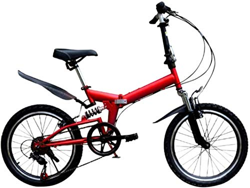 HCMNME Bicicleta Duradera, Bicicletas de montaña, Bicicleta de Carretera Ligera Portátil Portátil...