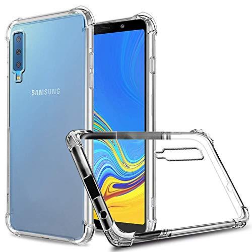 Capa Anti Shock e Pelicula De Vidro 3d Samsung A7 2018 A750