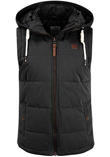 OXMO Lew Damen Weste Steppweste Outdoor Weste, Größe:S, Farbe:Black (799000)