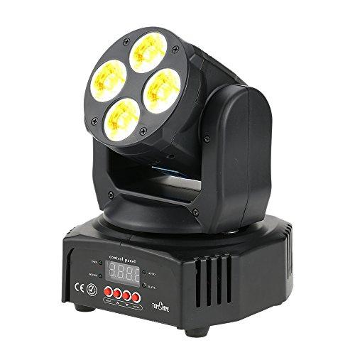 Tomshine 60W Moving Head Lights 6 IN1 DMX-512 16/18 Channels