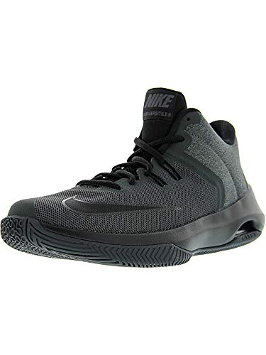 Nike Men's Air Versitile Ii NBK Anthracite/Black Ankle-High Basketball Shoe - 9.5M