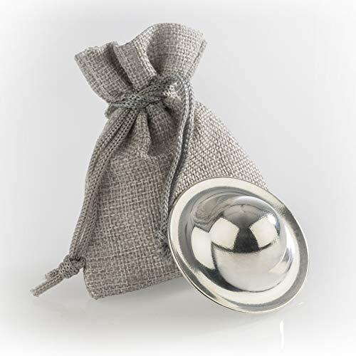 Stillhütchen - Zinnhütchen Brustwarzenschutz bei empfindlichen Brustwarzen aus nachhaltigem 99,9%-igem Reinzinn - Stilleinlage aus Zinn - 1 Stück