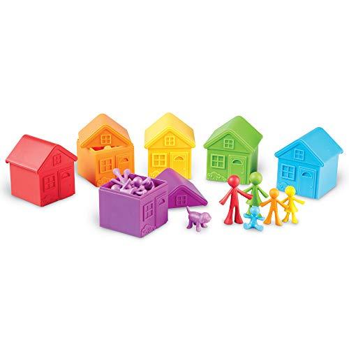 Learning Resources-El Barrio para clasificar All About (LER3369) , color/modelo surtido