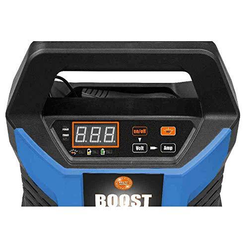 GÜDE Automatik Batterielader GAB 12V - 15A-BOOST | 4-400 Ah | 12 V | BOOST-FUNKTION | LED-Anzeige | Erhaltungsfunktion