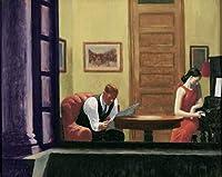 Edward Hopper ジクレープリント アート紙 アートワーク 画像 ポスター 複製(ニューヨークの部屋) #XZZ