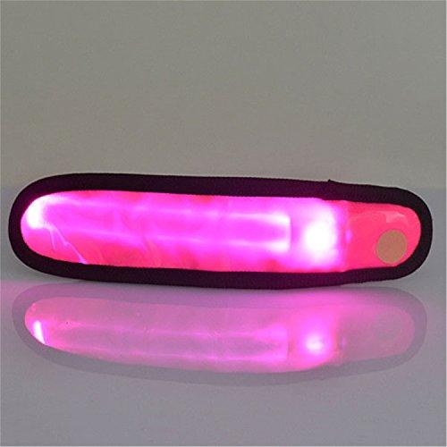 Nachtlicht Nachtbewegung Arm Handschlaufe Warnlicht Hochwertige Leuchtende Arm Handschlaufe LED-Licht, Glühen Sicherheit Camping Laufen...