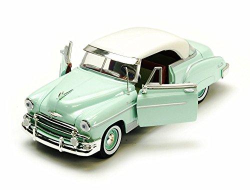 1950 Chevy Bel Air, Green - Motormax Premium American 73268 - 1/24 Scale Diecast Model Car