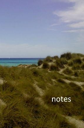 Notes: Notizbuch - Dünen - DIN A5/liniert