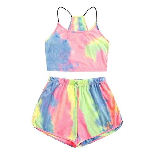 Women's Pyjama Sets Summer Tie D...