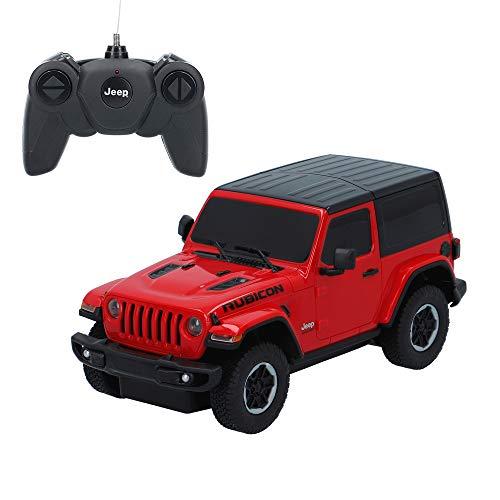 rastar - Auto radiocomandata in Scala 1:24 Jeep Wrangler JL (ColorBaby 46363)