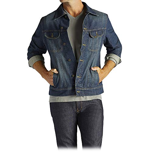 Lee Men's Denim Jacket, Radler, Medium