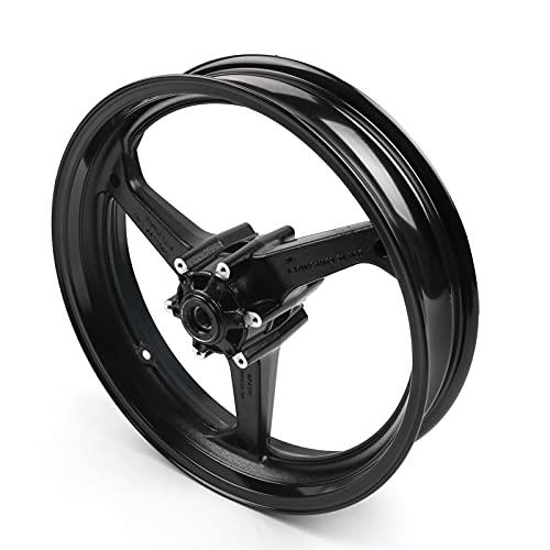 Nueva rueda delantera RIM para H-O-N-D-A CBR600RR CBR 600 RR 2007-2015 2008 2009 2010 Piezas de accesorios de motocicletas negras (Color : A)