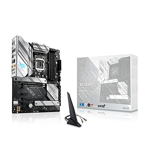 ASUS ROG STRIX B560-A GAMING WIFI, Scheda madre Gaming Intel B560 LGA 1200 ATX, PCIe 4.0, 8+2 fasi di alimentazione, WiFi 6 (802.11ax), Lan 2.5 Gb, 2xM.2, USB 3.2 Gen 2x2 USB Type-C, Aura Sync RGB