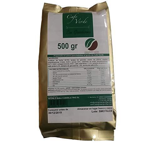 Soluble de bebida de café verde con Ganoderma 500gr