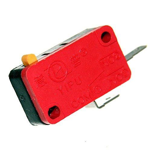 1 Mikrotaster Microswitch Öffner Schließer Taster Einbau Mikroschalter Endschalter Wippe Rolle Pinball Neu Joy-Button (Schließer)
