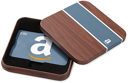 Tarjeta Regalo Amazon.es - €50 (Estuche Madera)