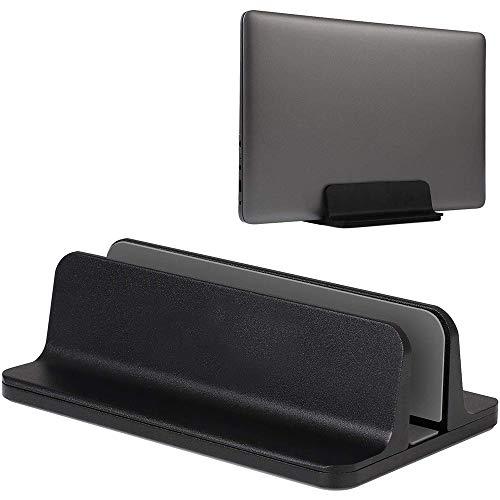 YiYunTE Soporte Vertical Portátil Laptop Stand Soporte para Ordenador Tablet de Aluminio Ancho Ajustable Ahorro de Espacio...