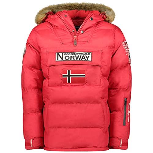 Geographical Norway Chaqueta de hombre BOKER ROJO talla L
