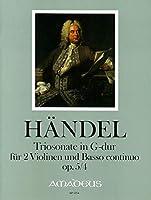 HAENDEL - Trio Sonata Op.5 nコ 4 en Sol Mayor para 2 Violines y Piano (Morgan/Kostujak)