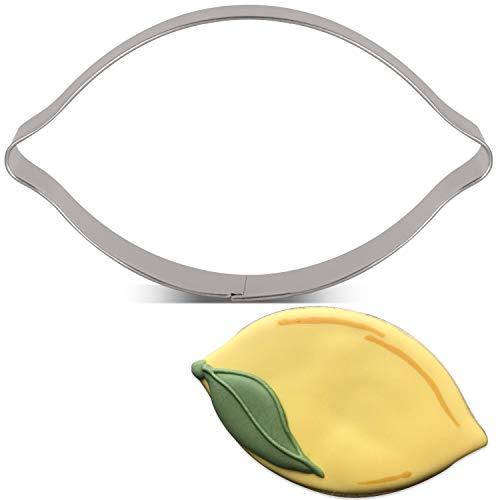 KENIAO Foremka do wykrawania ciastek cytryna, stal nierdzewna, 10,9 x 7,6 cm