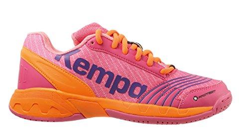 Kempa Mädchen Attack JUNIOR Sneakers, Pink (09), 38 EU