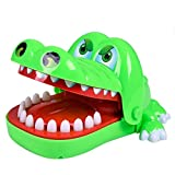 Domybest Giocattolo Coccodrillo Bocca Dentista Morso Dito Gioco Coccodrillo Dentista Coccodrillo Gioco Denti Giocattolo Divertente per Bambini Adulti
