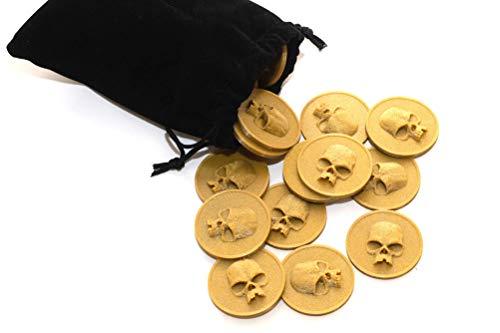 Monedas para juegos de rol y juegos de mesa