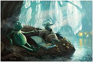 Bucket Try It You Must - Star Wars Yoda Kermit The Frog Parody - 8