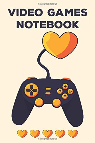 Video Games Notebook: Video Game Controller Review Journal Gift For Boys And Girls
