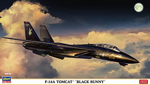 ハセガワ 1/72 アメリカ海軍 F-14A トムキャット ブラックバニー プラモデル 02377