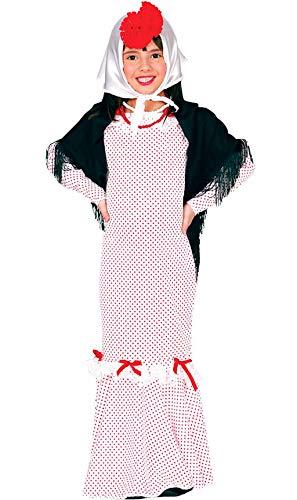 Guirca Disfraz de Chulapa Madrileña para niña y bebé