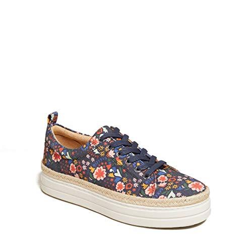 Jack Rogers Mia - Zapatillas deportivas para mujer, diseño floral, medianoche, 5