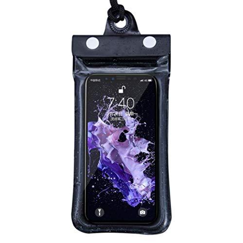 Bolsa impermeable universal IPX8 para teléfono móvil, bolsa seca para playa, kayak, viajes
