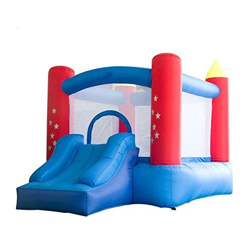 Nologo ROYAL Star TY Aufblasbares Schlag-Haus Mini Home Use aufblasbare Trampoline Kids Hüpfburg Kinder Geburtstags-Geschenk mit Blower